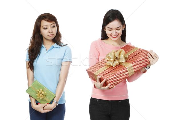 Envious of Bigger Gift  Stock photo © lorenzodelacosta