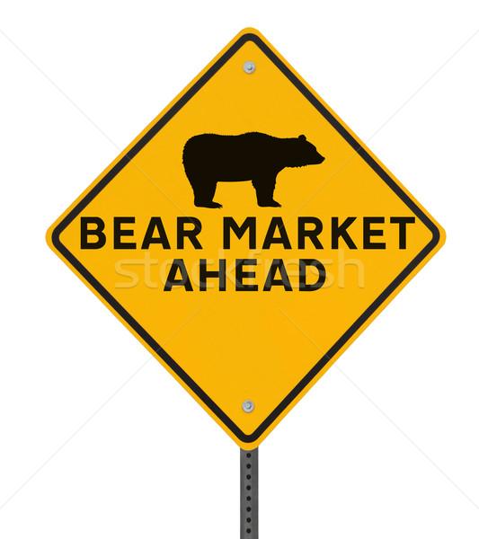 Bear Market Ahead  Stock photo © lorenzodelacosta