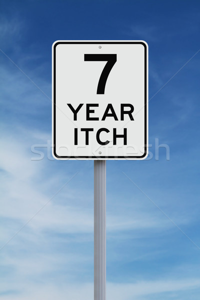 Seven Year Itch  Stock photo © lorenzodelacosta