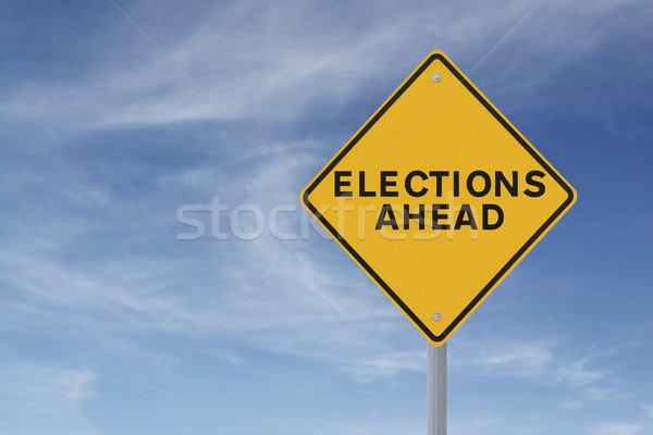 Elections Ahead  Stock photo © lorenzodelacosta