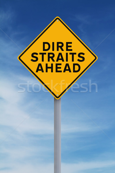 Dire Straits Ahead  Stock photo © lorenzodelacosta