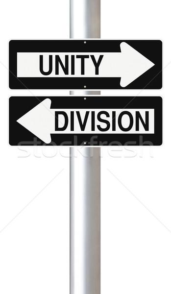 Unity Versus Division  Stock photo © lorenzodelacosta