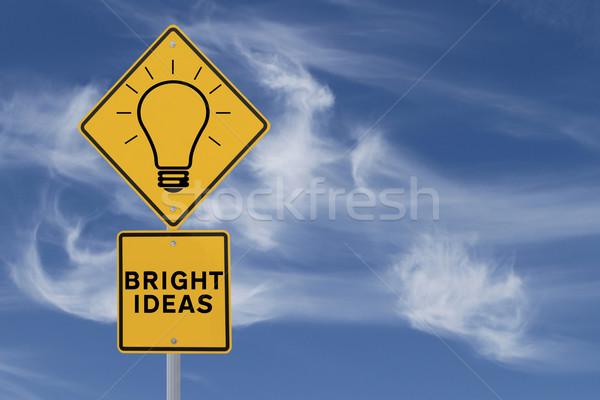 Bright Ideas  Stock photo © lorenzodelacosta