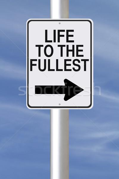 Full Life This Way  Stock photo © lorenzodelacosta