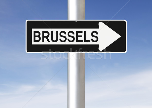 This Way to Brussels  Stock photo © lorenzodelacosta