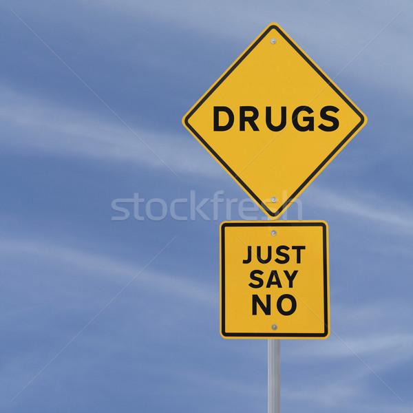 No To Drugs Stock photo © lorenzodelacosta