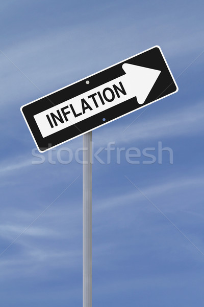 Inflation Going Up  Stock photo © lorenzodelacosta