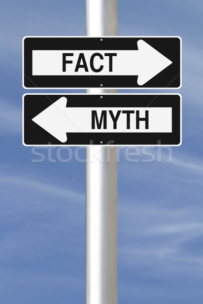 Fact or Myth  Stock photo © lorenzodelacosta