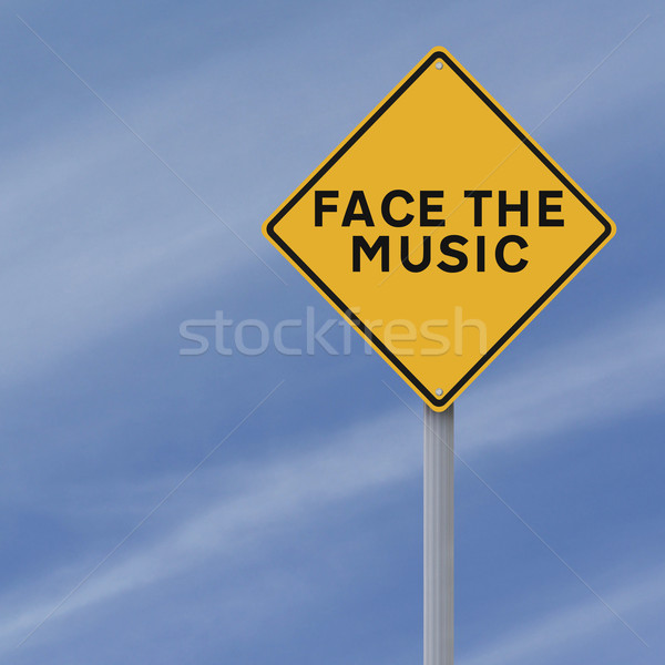 Face the Music  Stock photo © lorenzodelacosta