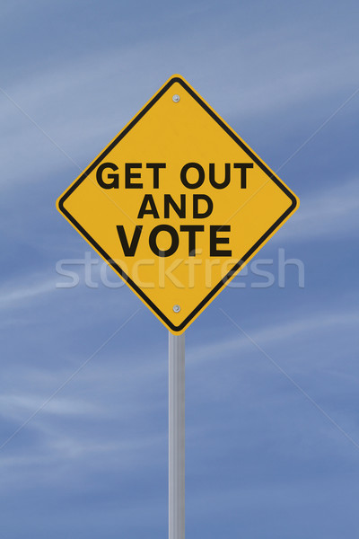 Get Out And Vote  Stock photo © lorenzodelacosta