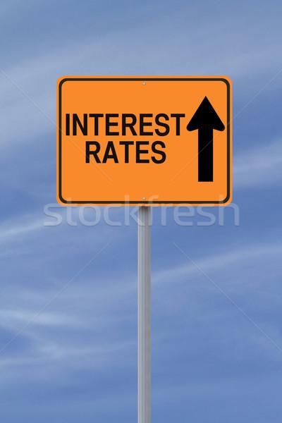 Interest Rates Up  Stock photo © lorenzodelacosta