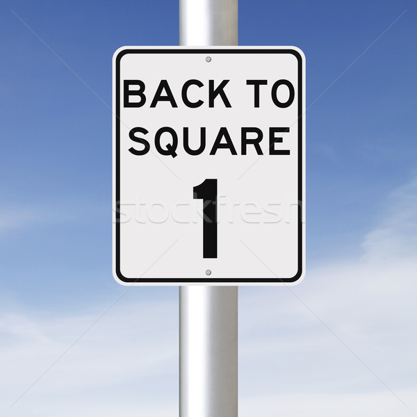 Back to Square One  Stock photo © lorenzodelacosta