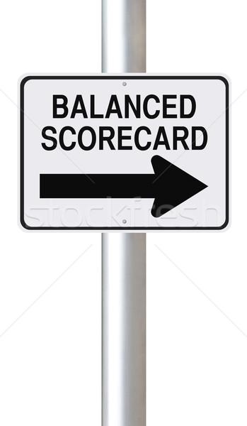 Balanced Scorecard  Stock photo © lorenzodelacosta