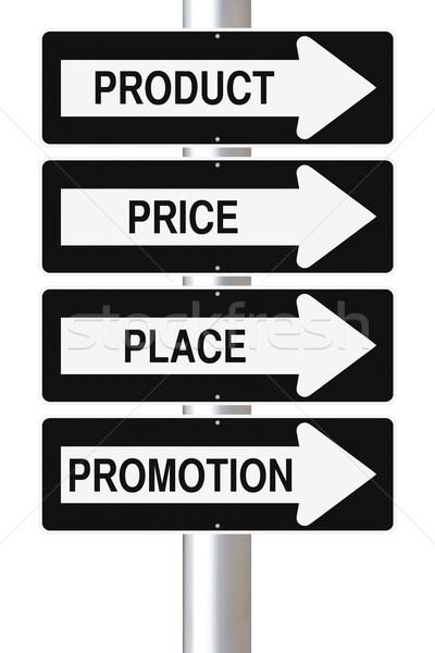Marketing Principles  Stock photo © lorenzodelacosta