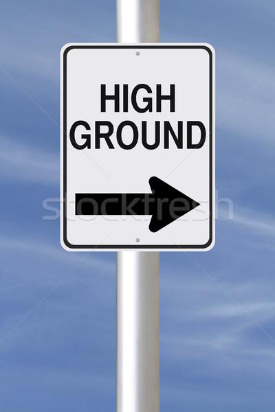 High Ground  Stock photo © lorenzodelacosta