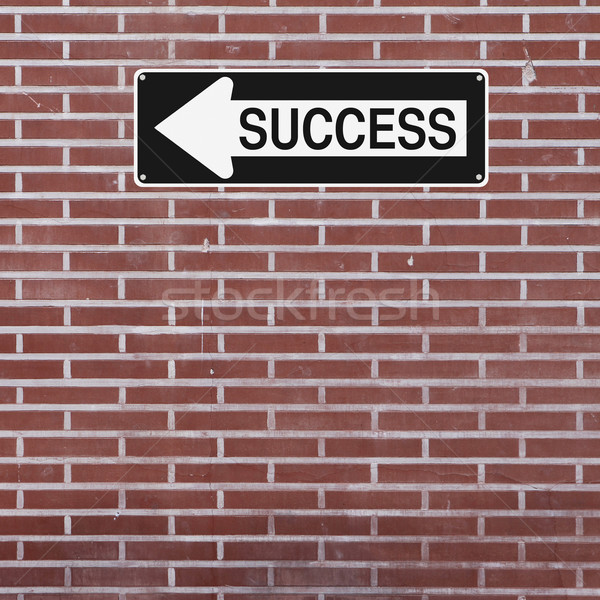 Success This Way  Stock photo © lorenzodelacosta