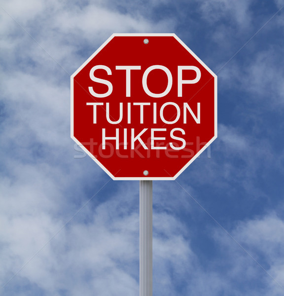 Stop Tuition Hikes  Stock photo © lorenzodelacosta
