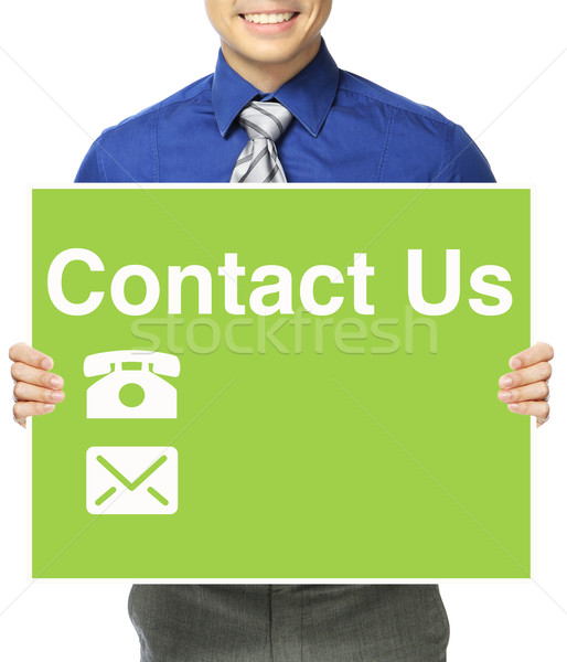 Contact Us  Stock photo © lorenzodelacosta