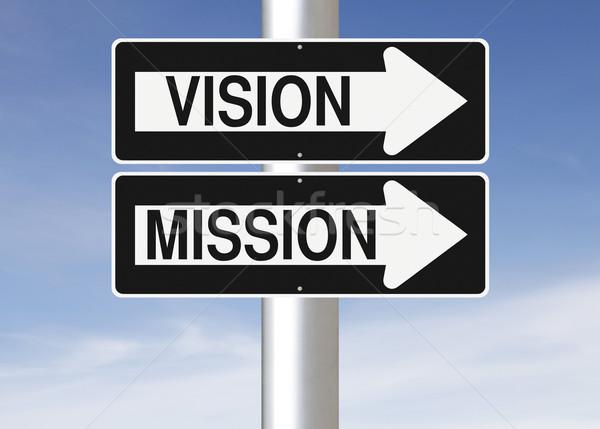 Vision and Mission  Stock photo © lorenzodelacosta