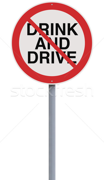 Drinking and Driving Not Allowed  Stock photo © lorenzodelacosta