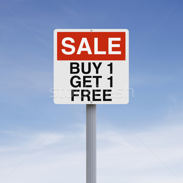 Buy One Get One  Stock photo © lorenzodelacosta