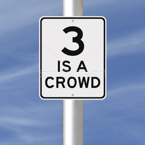 Three Is A Crowd  Stock photo © lorenzodelacosta