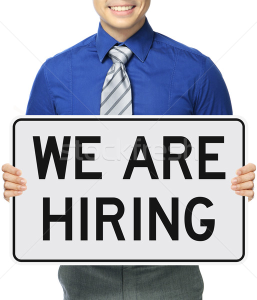We Are Hiring  Stock photo © lorenzodelacosta