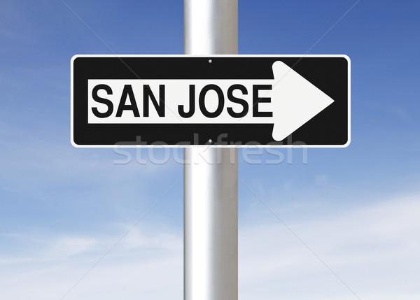 The Way to San Jose  Stock photo © lorenzodelacosta