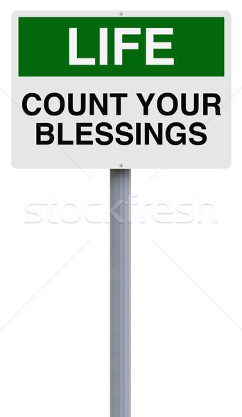 Count Your Blessings  Stock photo © lorenzodelacosta