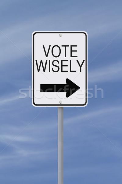 Vote Wisely  Stock photo © lorenzodelacosta