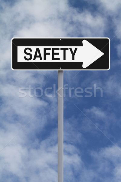 One Way To Safety  Stock photo © lorenzodelacosta