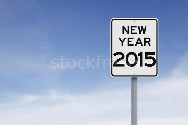 New Year 2015  Stock photo © lorenzodelacosta