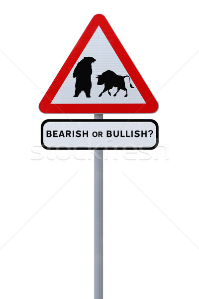 Bear Versus Bull  Stock photo © lorenzodelacosta
