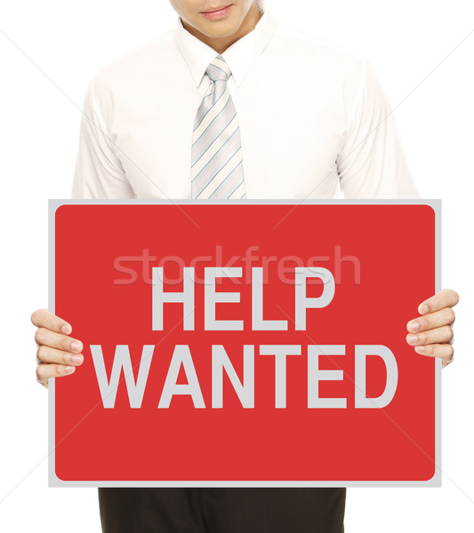 Help Wanted  Stock photo © lorenzodelacosta