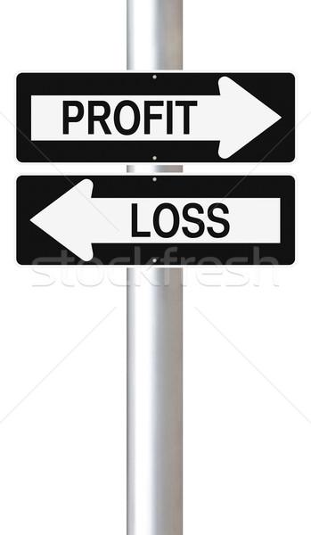Profit or Loss  Stock photo © lorenzodelacosta