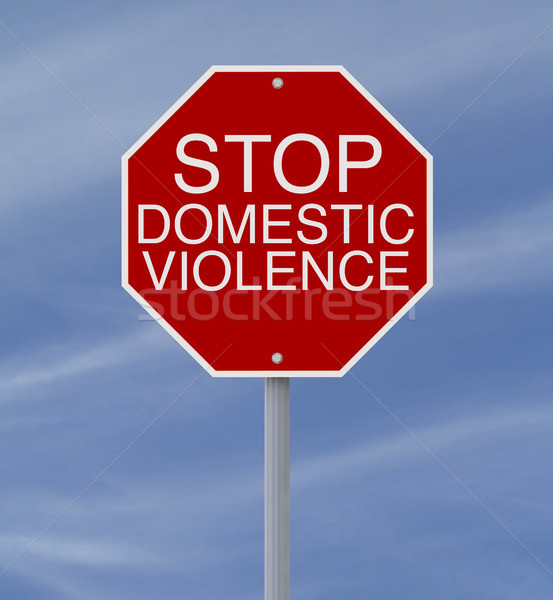 Stop Domestic Violence  Stock photo © lorenzodelacosta