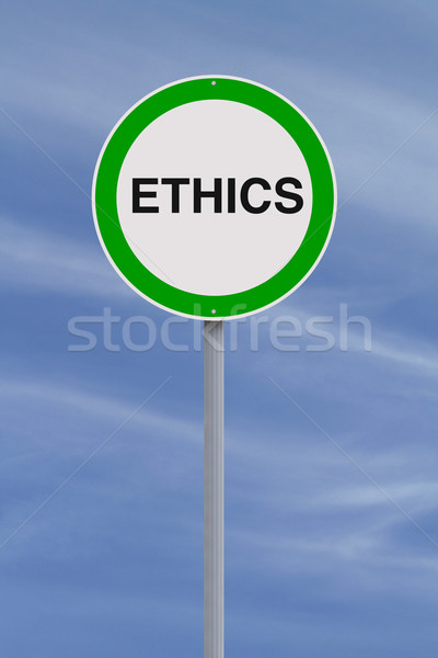 Ethics  Stock photo © lorenzodelacosta