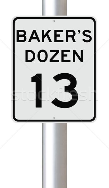Baker's Dozen  Stock photo © lorenzodelacosta