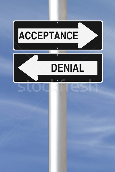 Acceptance or Denial  Stock photo © lorenzodelacosta