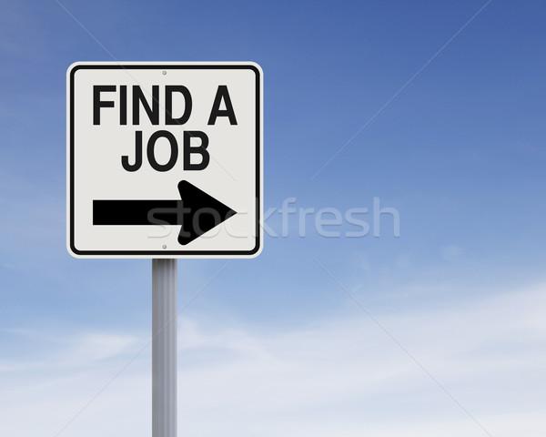 Find A Job  Stock photo © lorenzodelacosta