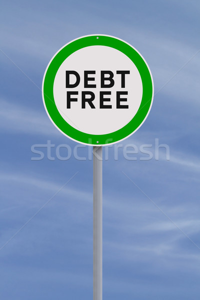 Debt Free  Stock photo © lorenzodelacosta