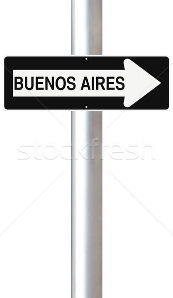 This Way to Buenos Aires  Stock photo © lorenzodelacosta