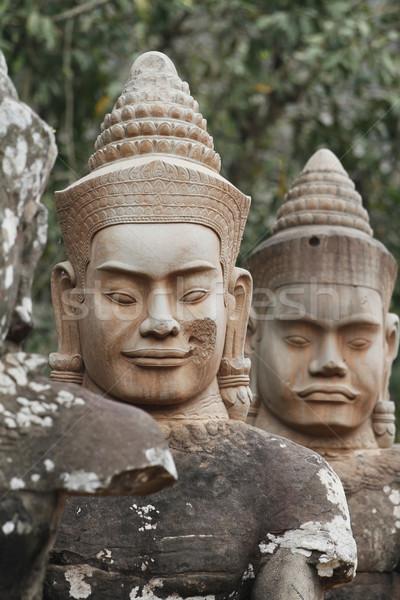 Angkor ocupado sul portão Foto stock © lorenzodelacosta