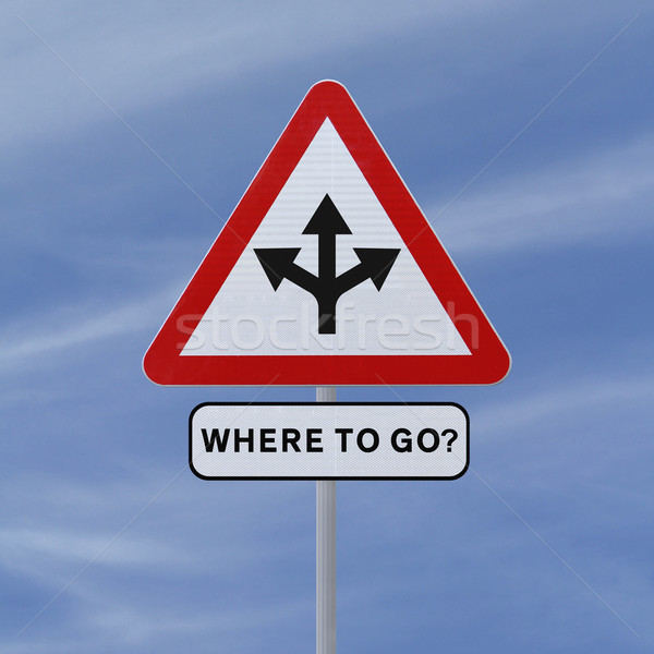 Where To Go?  Stock photo © lorenzodelacosta