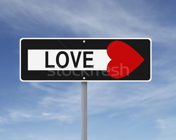 One Way To Love  Stock photo © lorenzodelacosta