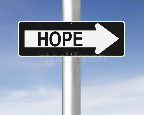 Hope This Way  Stock photo © lorenzodelacosta