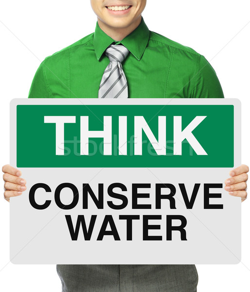 Conserve Water  Stock photo © lorenzodelacosta