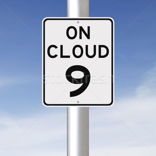 On Cloud Nine  Stock photo © lorenzodelacosta