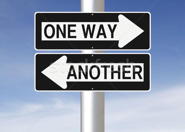 One Way or Another  Stock photo © lorenzodelacosta