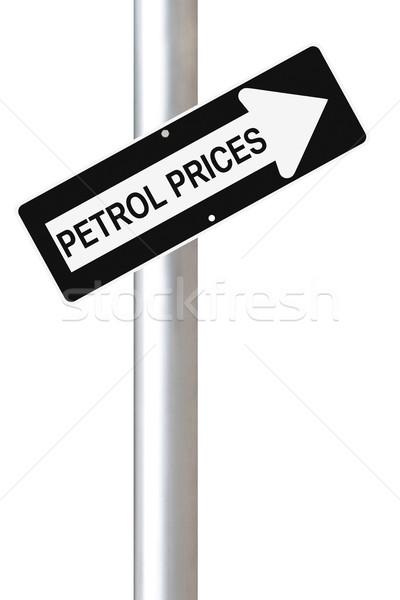 Petrol Prices Going Up  Stock photo © lorenzodelacosta